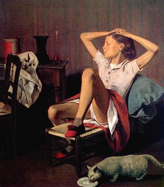 Balthus - Thérèse Dreaming (1938)
