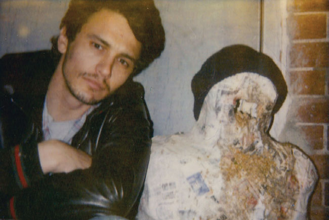 Polaroids by James Franco