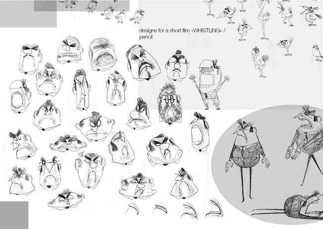 Thomas Louis Drawings