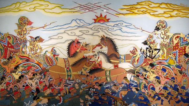 Traditional Wayang art