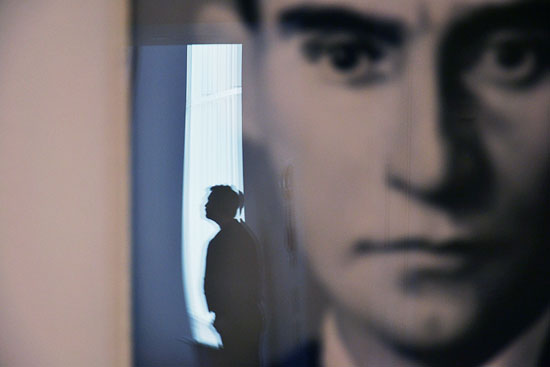 Franz Kafka by Gerhard Richter at the Museum Ludwig