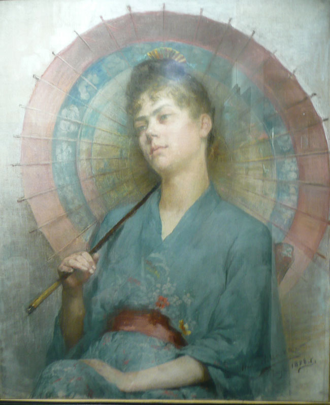 Pastel, by a student of the Académie Julian
